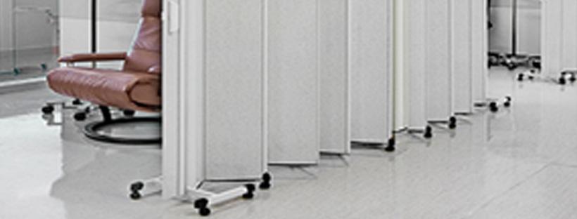 Divisória Móvel em PVC Exemplo