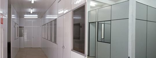 Divisória de PVC Exemplo