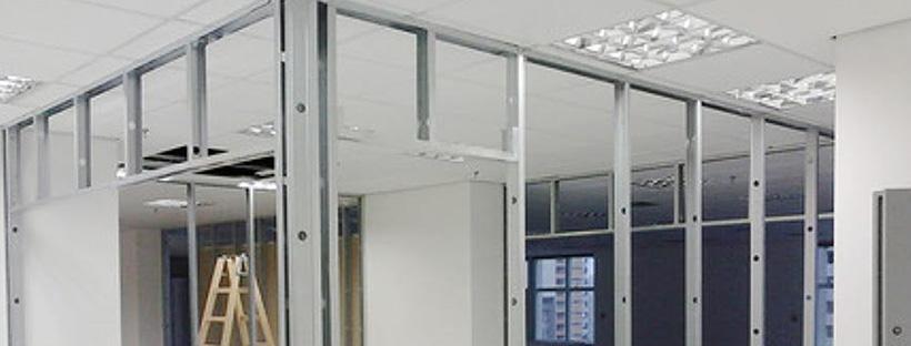 Divisória Drywall Exemplo
