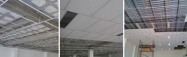Forro PVC Modular Exemplos Aplicados
