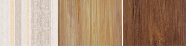 Forro PVC Linear Exemplos