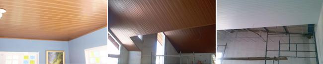 Forro PVC Linear Aplicado