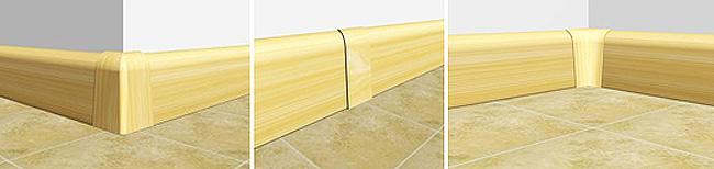 Rodapé Convencional PVC Detalhes