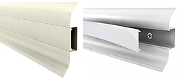 Rodapé Premium PVC Exemplo