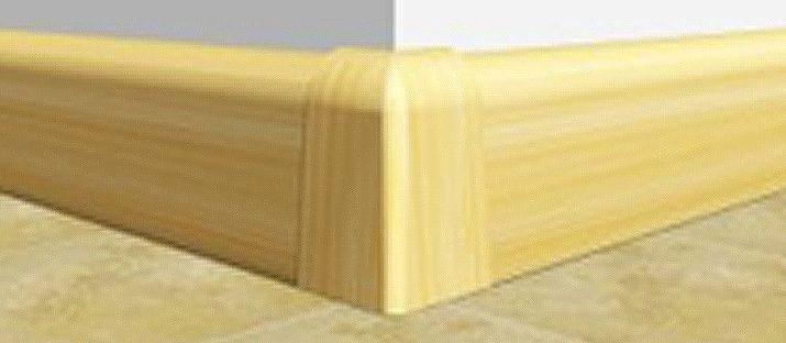 Rodapé Rodapé Convencional PVC Exemplos PVC